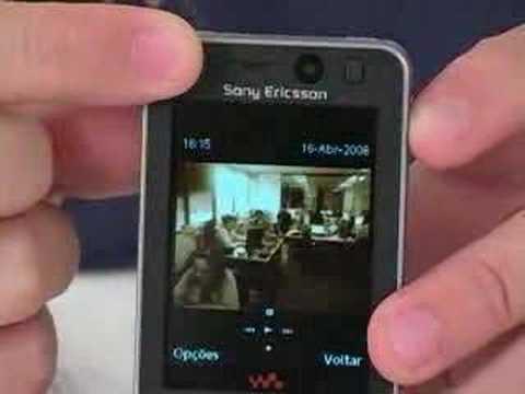 Celular Sony Ericsson W910