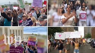 Abortion rights protests spread across the country