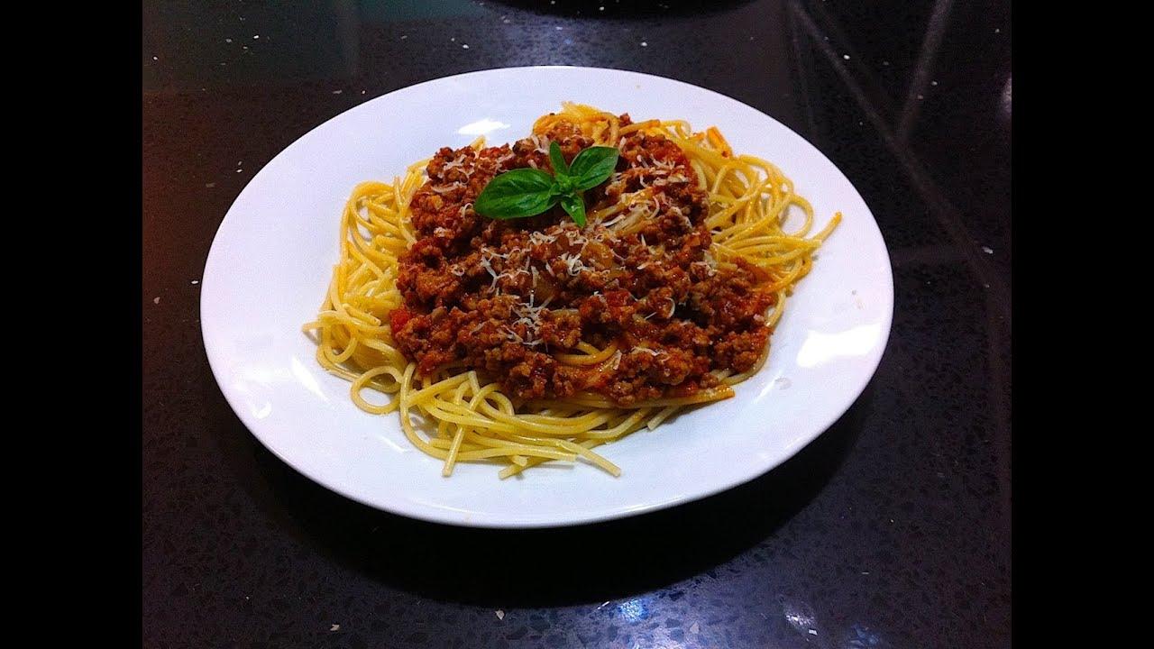 espaguetis bolonesa receta