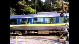 """JST1719 14-May-2013 JR-West Hama-No.3 Level crossing """"Hie-Shrine"""" Y..."""