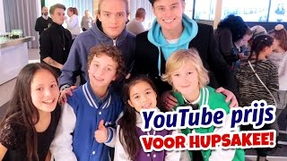YOUTUBE PRIJS VOOR HUPSAKEE! (Vlog) - Kinderen voor Kinderen