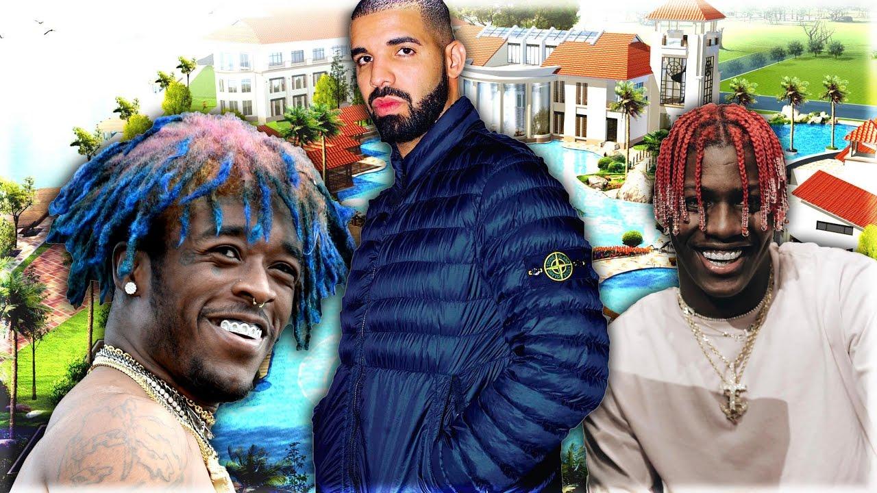 Top 10 Richest Rappers Lil Uzi Vert Lil Yachty Xxxtentacion Eminem More