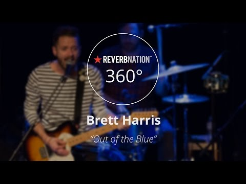 "Brett Harris #360Video - ""Out of the Blue"" Live at the Cat's Cradle Backroom"