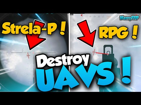 How To Destroy UAVs With Strela-P + RPG! Modern Warfare Tips And Tricks!