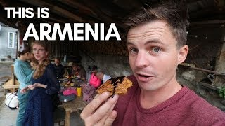 Flying into Yerevan - First Impressions of Armenia