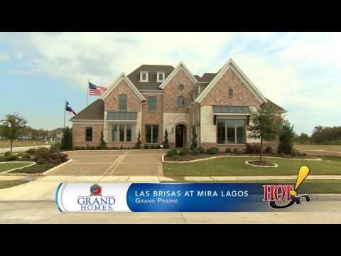 Grand Homes at Las Brisas at Mira Lagos in Grand Prairie, TX