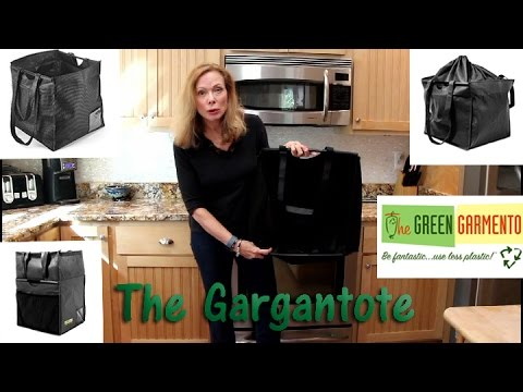 🍀 Shark Tank Green Garmento - Gargantote Tote/Basket/Hamper Product Review ⭐