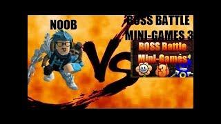 Kill the bosses! (Roblox Boss Battle Mini-Games 3)