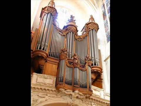 Eustache du Caurroy   32e Fantaisie  par Aude Heurtematte à l'orgue de Saint-Gervais, Paris