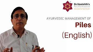 Dr.Vasishth's Ayurvedic Management of Piles (English)