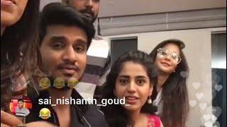 Nikhil,Simran Pareenja,Samyuktha Hegde and Deepthi sunaina Live video