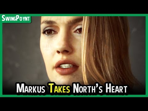 Detroit Become Human - Markus LITERALLY RIPS OUT North's Heart - North Sacrifices Herself for Markus |
