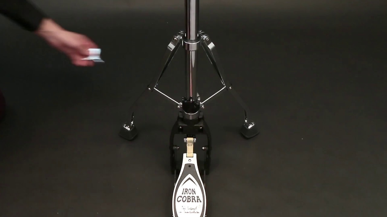3de9fbffa965 TAMA Iron Cobra Hi-Hat Stand - YouTube