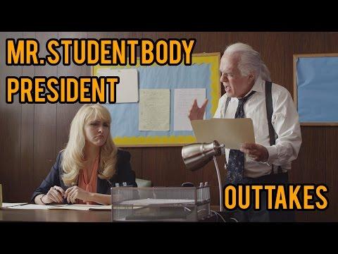 OUTTAKES: Mr. Student Body President  Maggie Ross  Jenn Lyon  Bill Weeden