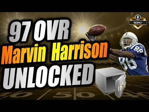 How to Unlock 97 Marvin Harrison | Madden 17 Ultimate Team Gameplay