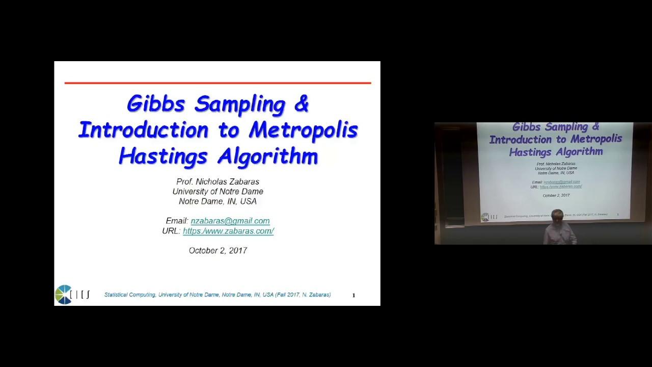 Lecture 16  Gibbs Sampling