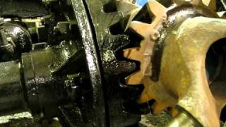 Restored Climax Locomotive Truck Rolling in the MSR&LHA Worksh…
