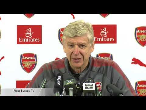 Arsene Wenger pre Arsenal vs huddersfield Town