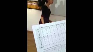 Ментальный счет, двузначные числа, разные цифры на казахском языке. Часть 2.