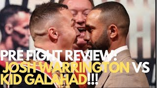 JOSH WARRINGTON VS KID GALAHAD REVIEW!!!