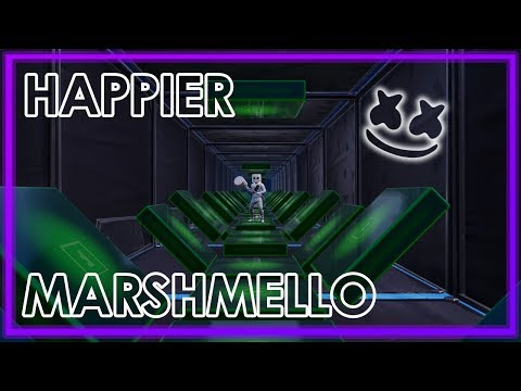 Playing Happier By Marshmello On The Fortnite Music Blocks