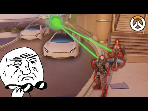 OVERWATCH ► FUNNIES, FAILS & CRAZY MOMENTS #77