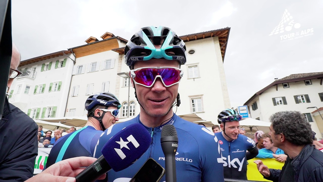 Chris Froome and his last time in a Team Sky jersey