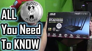aSUS RT-AC3200  TEST and REVIEW  ALL YOU NEED TO KNOW