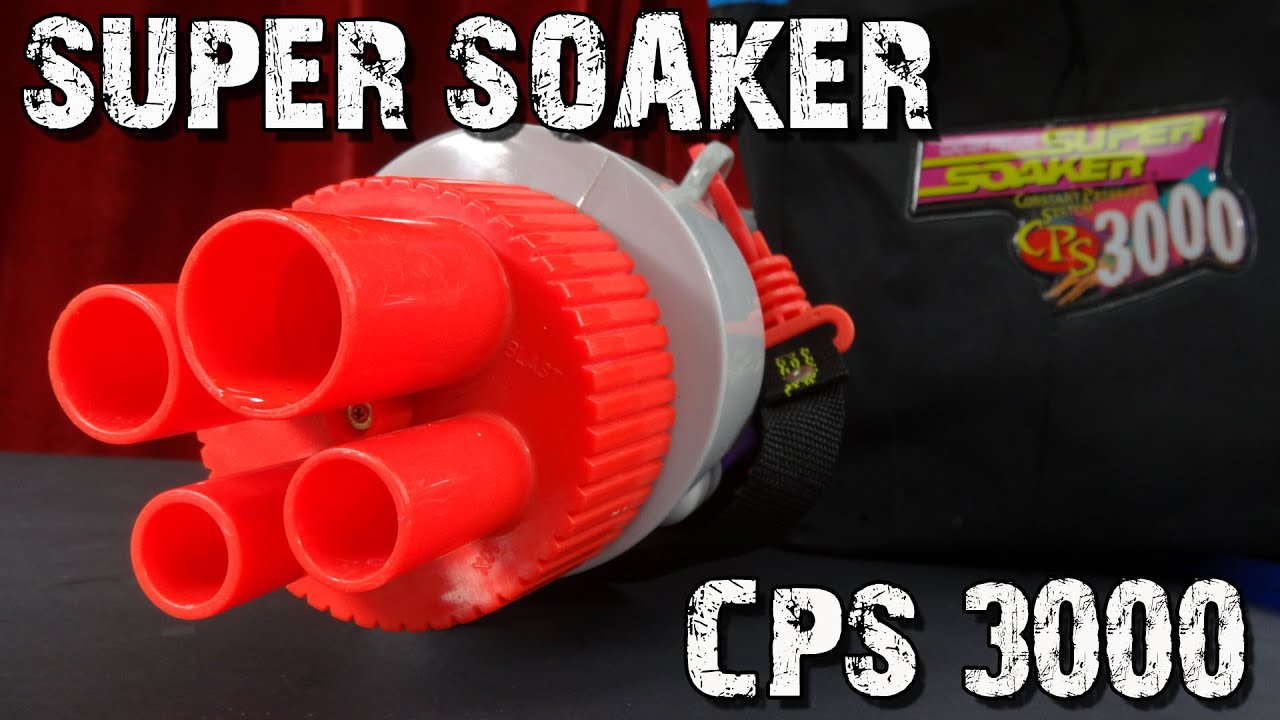 Super Soaker Cps 3000 Vorstellung Youtube