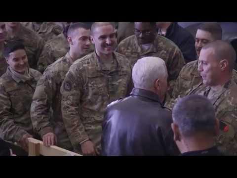 Vice President Pence Visits U.S. Troops in Afghanistan