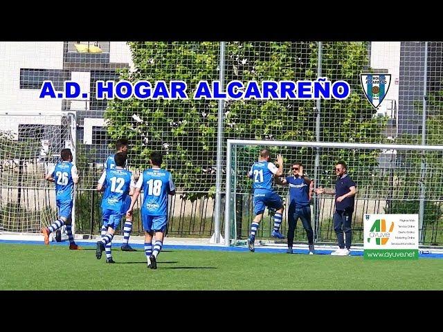 GOL JUAN ROJO  Y ABASS  HOGAR ALCARREÑO 3 0  PANTOJA11 MAYO 2019     EQUIPO DE FUTBOL   DE GUADALAJA