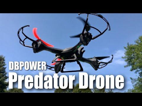 DBPOWER UDI U842 Predator WiFi FPV Drone Review and 4K Camera Hack