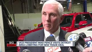Mike Pence visits Detroit