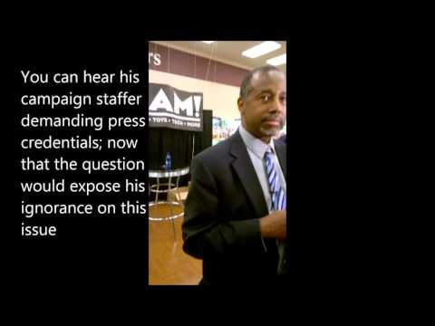Muslims 4 Liberty-TN confronts Carson on anti Islam rhetoric