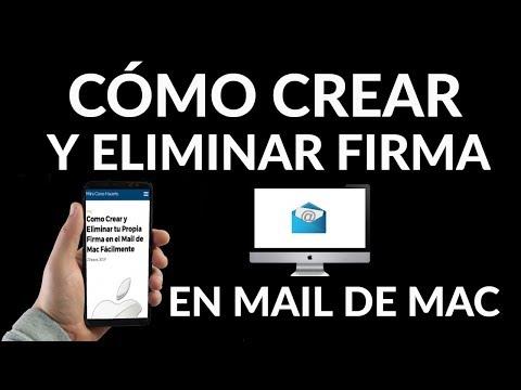 ¿Cómo Crear y Eliminar tu Propia Firma en el Mail de Mac?