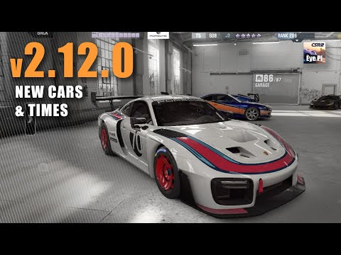 CSR2 |  V2.12.0 New Cars And Times!  | CSR Racing 2 | Mods