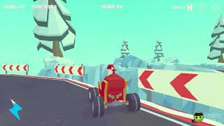 3D MONSTER TRUCK - ICYROADS GAME LEVEL 8-10