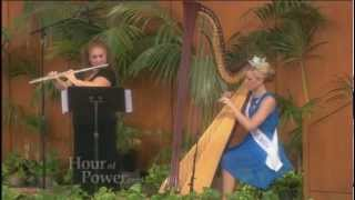 Mozart's Harp and Flute Concerto by Leah Cecil and Mary Oppermann