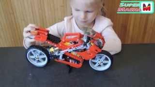 Лего Техник ► Мотоцикл Стрит Байк ❤ 8420 ОБЗОР 2 в1 Lego Technic Motor Cycles motorbikes street bike