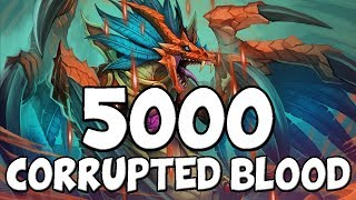 5000 Corrupted Bloods In a 4 Hour Hearthstone Game - Rastakhans Rumble
