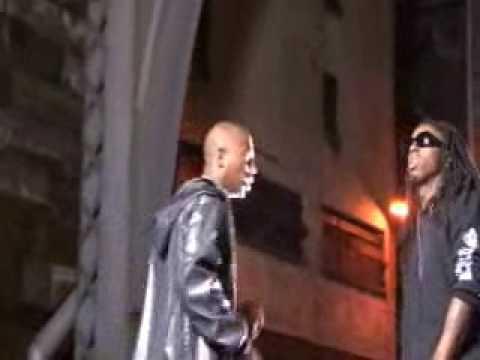 BEHIND THE SCENES Ja Rule & Lil'  Wayne VIDEO SHOOT 4 UH-OH ON DU U TV