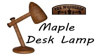 Maple Desk Lamp
