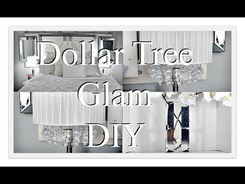 DIY Glam Crystal Lamp Shade ||Z Gallerie Inspired Vase