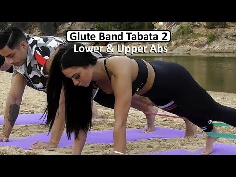 UPPER & LOWER ABS:  Loop Band Workout Series Session 2 – Coach Ali Glute Band Workouts Series