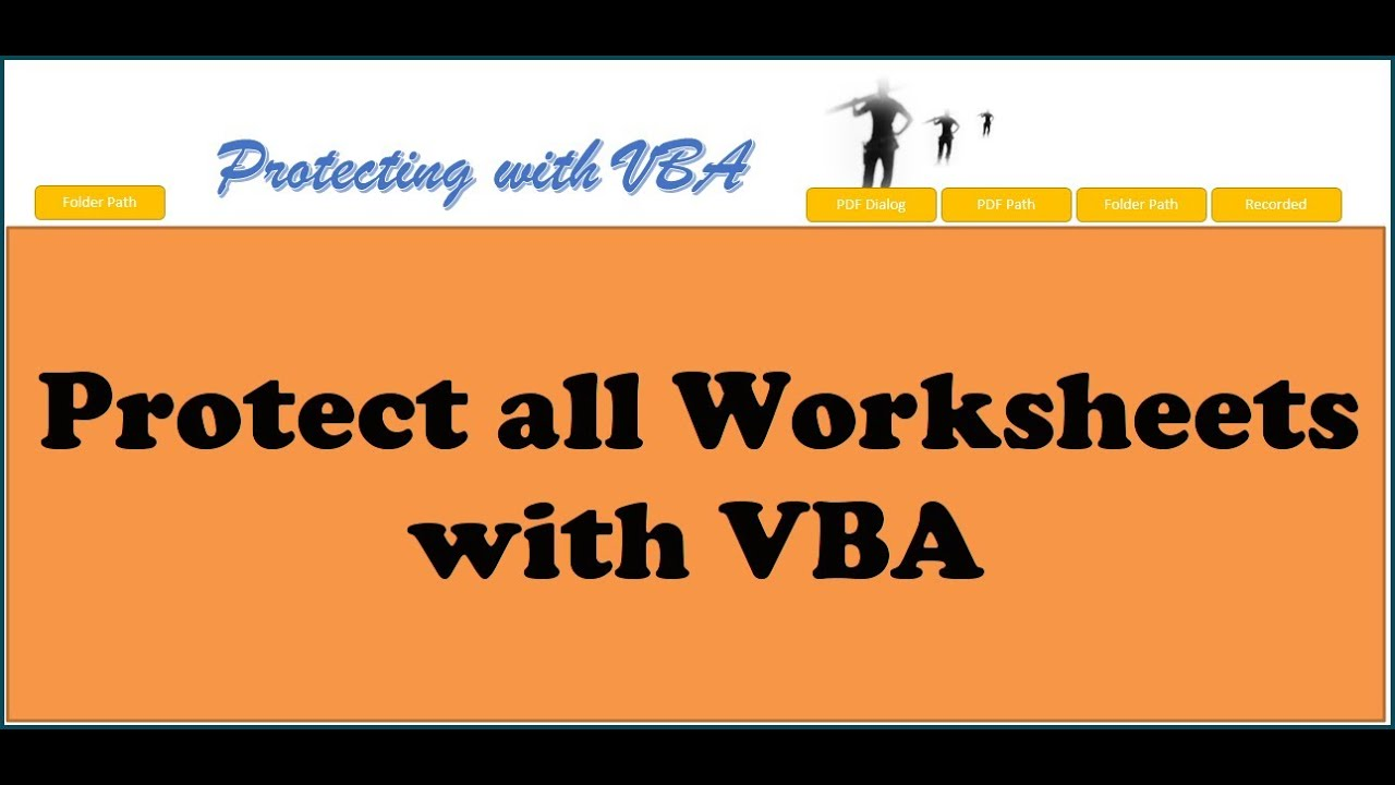 Excel VBA Protect all Worksheets with VBA YouTube – Worksheets Vba