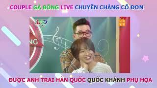 Winner - Việt Thi Couple GÀ BÔNG 🐣 live cực TÌNH CẢM CHUYỆN CHÀNG CÔ ĐƠN - QUỐC KHÁNH phụ họa