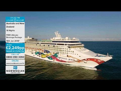 LoveitBookit TV - Norwegian Cruise Line, Australia & New Zealand