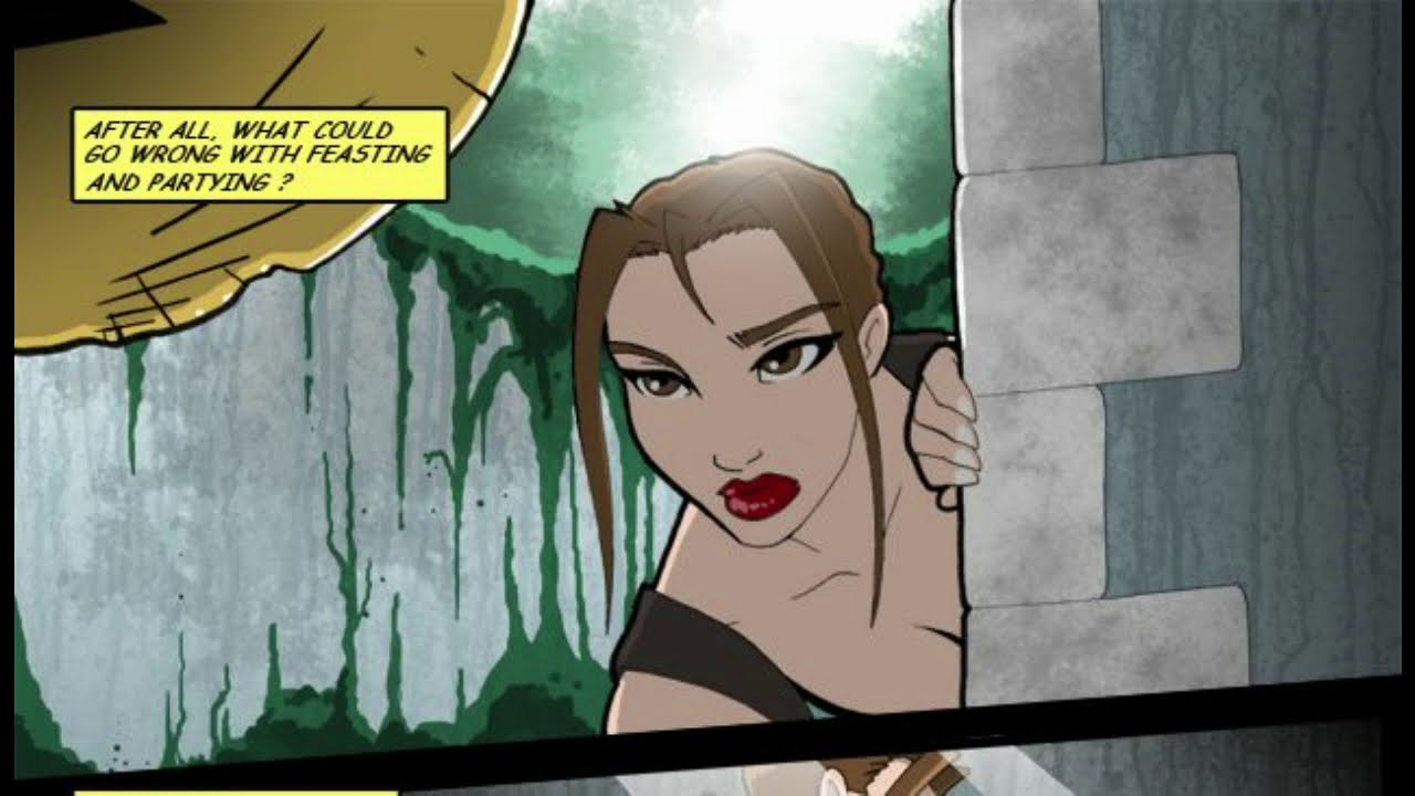 Download Tomb Raider and the Spirit of Bacchus Comic Dub