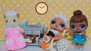 Живые куклы лол сюрприз Кукла ЛОЛ у Доктора  видео для детей Мультик про dolls lol surprise