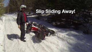 Slip Sliding Away - First Ride 2018